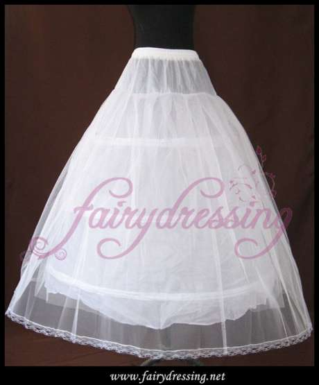 J-004 Petticoat for wedding dress big A form